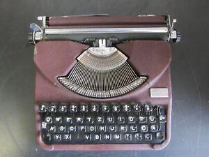 Schreibmaschine Kofferschreibmaschine Groma Gromina