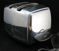 Vintage 1950s T-20A SUNBEAM Radiant Control Auto Drop Toaster -Works