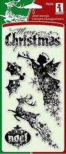 INKADINKADO CLEAR STAMPS ~CHRISTMAS SILHOUETTES
