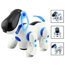 Robotic Interactive Pet Dog Walking Bump Go Puppy Kids Toy Children DI