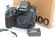 Nikon d800 digital SLR camera body, desencadenadores/shutter Count 40744