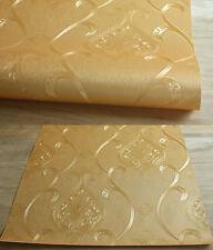 e-pak 3D moderne papier peint rouleau Mural or flocage rayé papier muraux