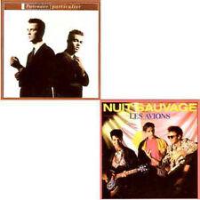 CD single PARTENAIRE PARTICULIER - Les AVIONS- Nuit sauvage - REMIXES - RARE