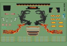 H0/1:87 DIS0330 Decalsatz Drachendesign für Volvo FH4 Zugmaschiene