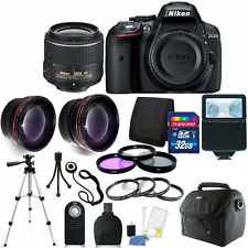 Nikon D5300 24.2 MP Digital SLR Camera with 18-55VR Lens + 32GB Accessory Kit