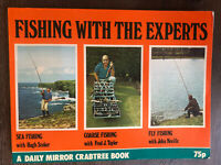 Vintage Fishing Book 'Fishing With The Experts' A Daily Mirror Crabtree Book