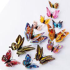 3D farfalla Design Adesivi Wall Art in camera magnetica Oggettistica per la casa