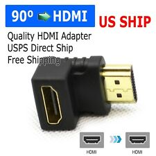 HDMI 90 Degree L Shaped Connector Cable Male to Female Adaptor Right Angle