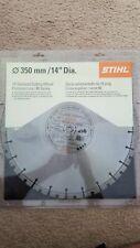 "STIHL 14"" B20 Diamond Cutting Wheel Concrete 0835 090 2026"