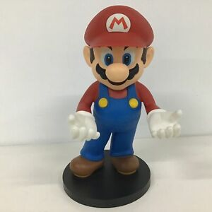 Mario First For Figures Nintendo DS Holder Statue On Round Black Base #416