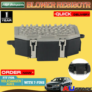 Blower Resistor for Audi A3 Volkswagen Golf Passat Jetta EOS Tiguan AutoClimate
