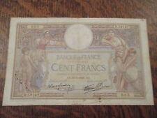 cent francs luc olivier merson ao. 19-5-1938. ao