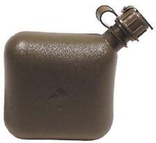 5x US Army 2 Qt  Wasser Feldflasche eckig Field Bottle oliv Wasserflasche