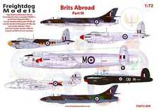 Freightdog Decals 1/72 BRITS ABROAD Part 3 R.A.F. OVERSEAS IN THE 1950s