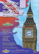 Grand Prix Gen Con Game Fair 2001 Magazine Advert #7068