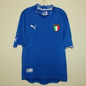 #21 Christian VIERI Italy 2003-04 home shirt Puma XXL 2XL maglia soccer jersey