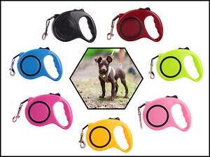 Hundeleine Gurt-Rollleine verstellbar einziehbar Ergonomische Einhand Leine