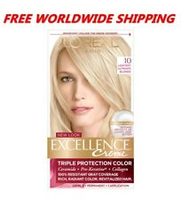 L'Oreal Excellence Creme Hair Color 10 Lightest Ultimate Blonde WORLD SHIP