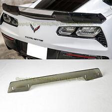 For 14-17 Corvette C7 Z06 Z07 Stage 3 Rear Spoiler Upgrade Wickerbill Light Tint