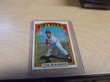 1972 TOPPS BASEBALL #246 TOM BURGMEIER ROYALS
