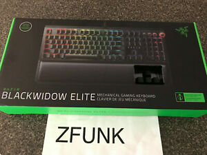 BRAND NEW BlackWidow Elite Wired Gaming Mechanical Razer Green Switch Keyboard