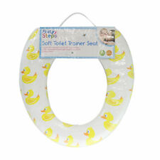 Kids Baby Toddler Safety Padded Soft Toilet Trainer Child Potty Training Seat