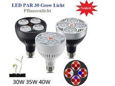 40w LED grow Plant Light Bulb plantas lámpara 6 banda floración 6500k Full Spectrum e27