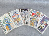 FIRE EMBLEM Hikari Manga Comic Complete Set 1-5 NEA FUYUKI Book EX