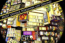 Pokemon Card Lot : Base Set - Current - EX Holos Rares Legendary Pokemon Cards