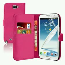 ALL SAMSUNG PHONES  PREMIUM LEATHER WALLET FLIP CASE COVERS