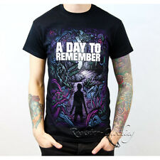 A Day To Remember Homesick Men's Black Cotton T-Shirt Top Tee S - 2XL
