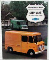 1968 Chevrolet Step Van & Forward Control Chassis Truck Sales Brochure REV R1