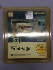 Microsoft FrontPage Web Site Creation & Management Software Front Page 2002