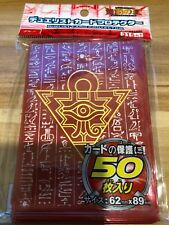 50 ct Translucent-Red Card Sleeves Plastic Deck Protector Yugioh