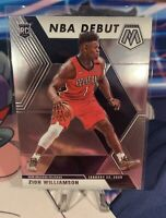 Zion Williamson 2019-20 Mosaic Rookie Card Base NBA Debut #269 Pelicans RC📈