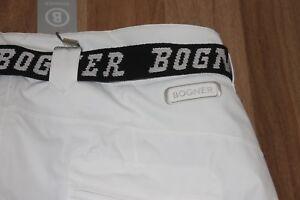 Bogner Men's Ski Pants Rik T White Black Size XXL Eu:56 Or 3XL Eu: 58 New