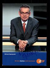 Michael Opoczynski ZDF Autogrammkarte Original Signiert # BC 61648