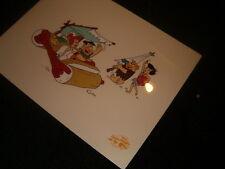 Hanna Barbera Flintstones-Beach Blanket Bedrock Serigraph cel edition of 9500