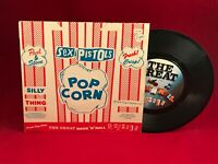"""SEX PISTOLS Silly Thing 1979 UK 7"""" vinyl single EXCELLENT CONDITION Bambi D"""