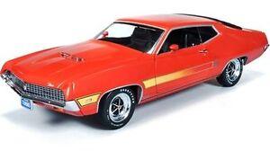 1970 Ford Torino GT Calypso Coral 1:18 Auto World 1020