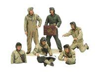 Tamiya Models U.S. Tank Crew Set (European Theatre) Import Japan