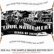 Class of 2020 Custom vinyl banner full color pvc with metal grommets thm