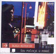 BAJAGA I INSTRUKTORI CD Sou pocinje u ponoc Albu 2006 Fanki Taxi Momcilo Bajagic
