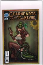 GEARHEARTS STEAMPUNK GLAMOR REVUE #12 Antarctic Press Comic NM  - Vault 35