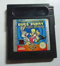 Bugs Bunny & Lola Bunny - Operation Karotten - Nintendo Game Boy color / Advance