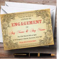Personalised Destination Vintage London Bus Blind Wedding Engagement Typography