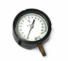 """New listing Weksler Royal 0-15 Psig Absolute Vacuum Pressure Gauge 5"""" Face 1/4 Npt"""