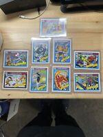 1990 Marvel Universe Fantastic Four Set W/ Famous Battles 9 Card Lot PSA QUALITY