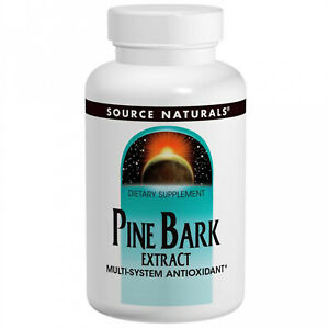 Source Naturals, Pine Bark Extract, 60 Tablets