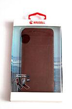 AppleHandyschale Ledertasche für iPhone 6s Plus und 6 plus von Krusell flipcase